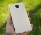 Чехол Motorola Google Nexus 6 книжка белая