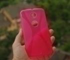 Чехол Motorola Google Nexus 6 красный - изображение 2