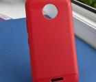 Чехол Motorola Moto C красный матовый