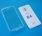 Чехол Motorola Moto E4 прозрачный TPU Европа