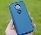 Чехол Motorola Moto E5 Ondigo синий - фото 2