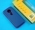 Чехол Motorola Moto E5 Ondigo синий - фото 4