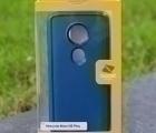 Чехол Motorola Moto E5 Ondigo синий