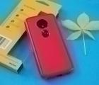 Чехол Motorola Moto E5 Ondigo красный