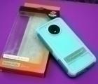 Чехол Motorola Moto E4 США Ondigo бирюзовый с ножкой - фото 3