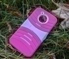 Чехол Motorola Moto E4 Американская версия розовый