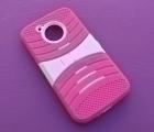 Чехол Motorola Moto E4 Американская версия розовый - фото 3