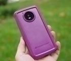 Чехол Motorola Moto E4 Америка Ondigo сиреневый