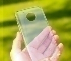 Чехол Motorola Moto E4 прозрачный пластик USA - изображение 4