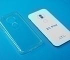 Чехол Motorola Moto E5 Play (США) TPU прозрачный - фото 3