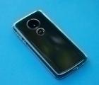 Чехол Motorola Moto E5 прозрачный TPU