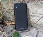 Чехол Motorola Moto E6 чёрный матовый - фото 5