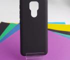 Чехол Motorola Moto E7 Plus чёрный матовый