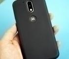 Чехол Motorola Moto G4 чёрный