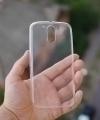 Чехол Motorola Moto G4 Plus прозрачный - изображение 2