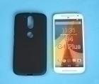 Чехол Motorola Moto G4 Plus чёрный