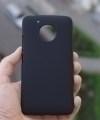 Чехол Motorola Moto G5 черный пластик