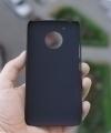 Чехол Motorola Moto G5 черный пластик - изображение 2