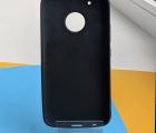 Чехол Motorola Moto G5 Plus черный матовый - фото 2