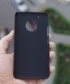 Чехол Motorola Moto G5 Plus черный пластик - изображение 2