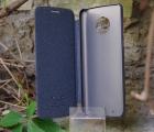 Чехол книжка Motorola Moto G6 Nillkin серый