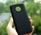 Чехол Motorola Moto G6 Plus чёрный - изображение 2