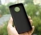 Чехол Motorola Moto G6 Plus чёрный - изображение 3
