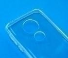 Чехол Motorola Moto G7 Play прозрачный TPU