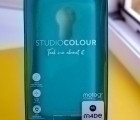 Чехол Motorola Moto G7 Power Studio Colour  Mint - фото 4