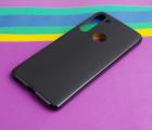 Чехол Motorola Moto G8 черный матовый - фото 2