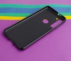 Чехол Motorola Moto G8 черный матовый - фото 3