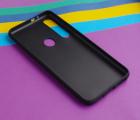 Чехол Motorola Moto G8 Play черный матовый - фото 2