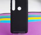 Чехол Motorola Moto G8 Play черный матовый - фото 3