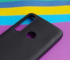 Чехол Motorola Moto G8 Play черный матовый - фото 4