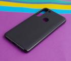 Чехол Motorola Moto G8 Power черный матовый - фото 3