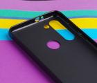 Чехол Motorola Moto G8 Power черный матовый - фото 4