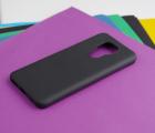 Чехол Motorola Moto G9 Play чёрный матовый