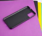 Чехол Motorola Moto G9 Plus чёрный матовый - фото 2