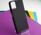 Чехол Motorola Moto G9 Plus чёрный матовый - фото 4