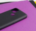 Чехол Motorola Moto G9 Power чёрный матовый - фото 4