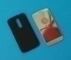 Чехол Motorola Moto M чёрный - изображение 5