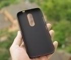 Чехол Motorola Moto M чёрный - изображение 3