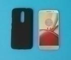 Чехол Motorola Moto M чёрный - изображение 4