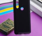 Чехол Motorola Moto One Action черный матовый - фото 4
