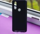 Чехол Motorola Moto One Action черный матовый - фото 2