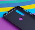 Чехол Motorola Moto One Action черный матовый - фото 3