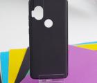 Чехол Motorola One Hyper чёрный матовый - фото 3