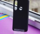 Чехол Motorola Moto One Macro черный матовый - фото 3