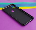 Чехол Motorola Moto One Macro черный матовый - фото 4