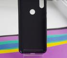 Чехол Motorola Moto One (P30 Play) черный матовый - фото 2